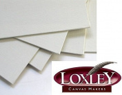 20cm x 20cm Artists Square Blank Canvas Board Acrylic Primed Loxley