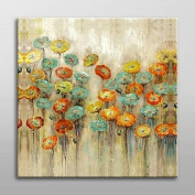 SHENCHI A panel hand-painted floral/Botanical Garden canvas oil paintings home decor