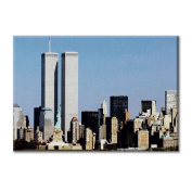 Canvas panel Canvas USA New York Skyliner Twin Tower Twin Towers World Trade Centre Furniture City landscapes