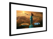 """Signs of the Zodiac - Libra - 23,62"""" x 15,75"""" inch (60x40 cm) - Picture with frame / Framed poster - Art print - wall art - artists, paintings, photography - Star Sign"""