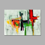 """WSJ Abstract Art Painting Size 90X60cm Fine Art Acrylic Oil Painting Canvas With Stretcher , with stretched frame , 24"""" x 36"""""""