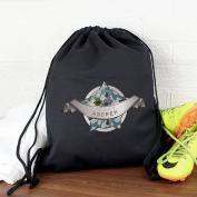 Personalised Army Camo Black Swim & Kit Bag Personalised Whether Its Used For Swimming, Football