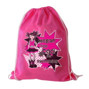 Girls Too Cool Swim Bag Personalised Personalise This Girls Too Cool Swim Bag With A Name Using Up