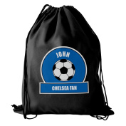 Dark Blue Football Fan Kit Bag Personalised Whether Its Used For Swimming, Football Practise Or
