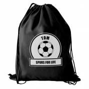 Football Fan Kit Bag Personalised Whether Its Used For Swimming, Football Practise Or Other