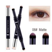 Eyeshadow Stick,VNEIRW 2 Colours+Matt+Shimmer+Waterproof+Lasting Nude Makeup Eye Shadow Stick Pen