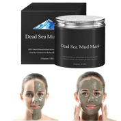 KAYI Dead Sea Mud Face Deep Cleansing Clay - Pores Minimizer, Acnes Reducer
