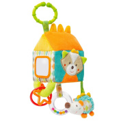 071122 Fehn Activity House Toy with C-Ring Sleeping Forest