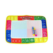 Superxing® Baby Kids Doodle Mat Magic Pen Educational for 1-6 Years Old 45cm x 29cm