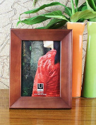 Lh & Fh 10cm x 15cm Simple Style Wood Pattern Picture Frame