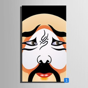 GAG-Decorative paintings@Stretched Canvas Art Colour of Beijing Opera Mask Decoration Painting One Pcs , 36cm x 50cm
