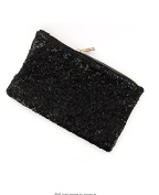 Fengh Evening Wedding Party Luxury Glittering Sequinned Clutch Bag Purse Hand Bag