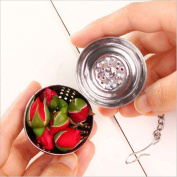 Omkuwl Stainless Steel Seasoning Ball Practical Simple /Easily Clamps Tight To Keep Tea Or Spices Secure