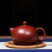 HZZymj-Handmade ore Dahongpao dwarf Xi Shi Zisha teapot tea set