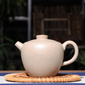 HZZymj-Teapot tea with a giant round of beads of jade mud master hole ball hole , white
