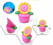 1 PCS Bath Toys Baby Toy Water Spray Animal Soft Rubber Toys Flower