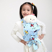 Baby Doll Carrier Mei Tai Sling Toy For Kids Children Toddler Front Back,Mini Carrier,Birthday Christmas Gift