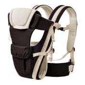 Newborn Baby Carriers Feicuan Adjustable Strap Front and Back Wrap Bag Sling with Pocket