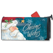 Santa Wishes MailWrap Mailbox Cover 01390