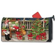 Santa's Porch MailWrap Mailbox Cover 01392
