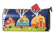 Fall Camping MailWrap Mailbox Cover 00104
