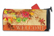 Autumn Wreath MailWrap Mailbox Cover 00102