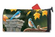Bluebird Meeting MailWrap Mailbox Cover 00114