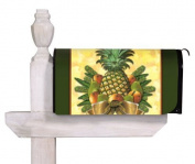 Pineapple & Greenery Magnetic Mailbox Cover