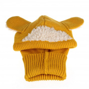 Baby Knitted Hat ,Morwind New Winter Baby Kids Girls Boys Warm Woollen Coif Hood Scarf Caps Hats