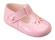 Luxury British Made High Quality Soft Soft Decorative Special Occasions Christening Baby Girl Shoes