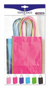 Playbox - Paper Bags, Coloured 210 x 130 mm, 6 Pcs, Multi