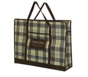 Set of Two Bags Classic Style Brown