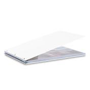 Pina Zangaro Vista 11X17 Landscape Screwpost Binder, Snow, Includes 20 Pro-Archive Sheet Protectors