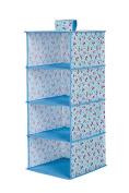 DYF Storage Hanging bag Waterproof Multilayer Fabric Multi-Specification,31*31*74cm,C