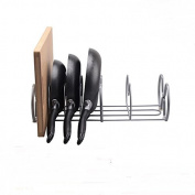 DYF Storage Pot Rack Placing Kitchen Multifunctional layer,43*19.8*12.5cm