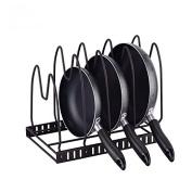 DYF Storage Pot Rack Placing Kitchen Multifunctional layer,43*19*12.5cm