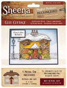 Sheena Douglass Mockingbird Hill Metal Die - Cosy COTTAGE, Silver