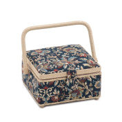 S & W Collection HGS281 | Small Square Sewing Box | Canterbury | 20 x 20 x 11cm