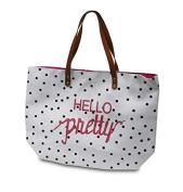 Bag Hello Pretty Black Dots