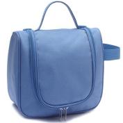 GUJJ Large capacity-travel bag waterproof vanity package cosmetic bag, Blue