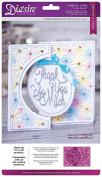 Die'sire Circle Centre Create a Card, Silver