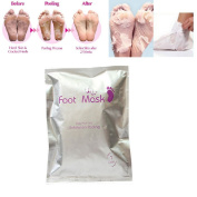 Foot Mask Exfoliating Perfect Baby Soft Peel Away Feet renewal Footmasks Calluses and Dead Skin Cells