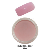 C & I Dipping Powder Colour No. 035 Pink Red Colour System