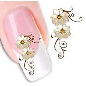 1 Nail sticker watermark 3d stickers jewellery cosmetic Design