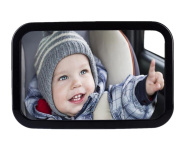 MWYJR Baby Car Mirror Clear Safe Simple Secure Instal Back Seat Rear View Fixing Straps View mirror