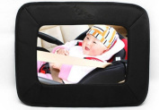 MWYJR Baby Car Mirror Clear Safe Simple Secure Instal Back Seat Rear View Suction View mirror