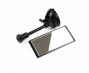 MWYJR Car Baby Mirror, Universal Wide-angle Viewing Baby Child Car Rear Seat View Mirror - Adjustable Convex and Shatterproof Glass - With sucker 360 ° rotation
