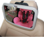 MWYJR Baby Car Mirror Shatterproof Clear Safe Simple Secure Instal Back Seat Rear Fixing Straps View mirror