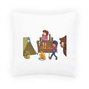 People Hiking Camping Decorative Pillow , Cushion cover with Insert or Without r230p