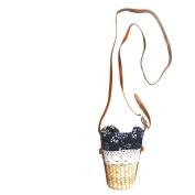 Woven bag J & M Women Crochet Beach Bag ,Casual Shoulder Bag , A